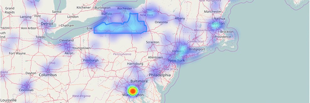Alcid | Blog - Making a Geographic Heatmap with Python